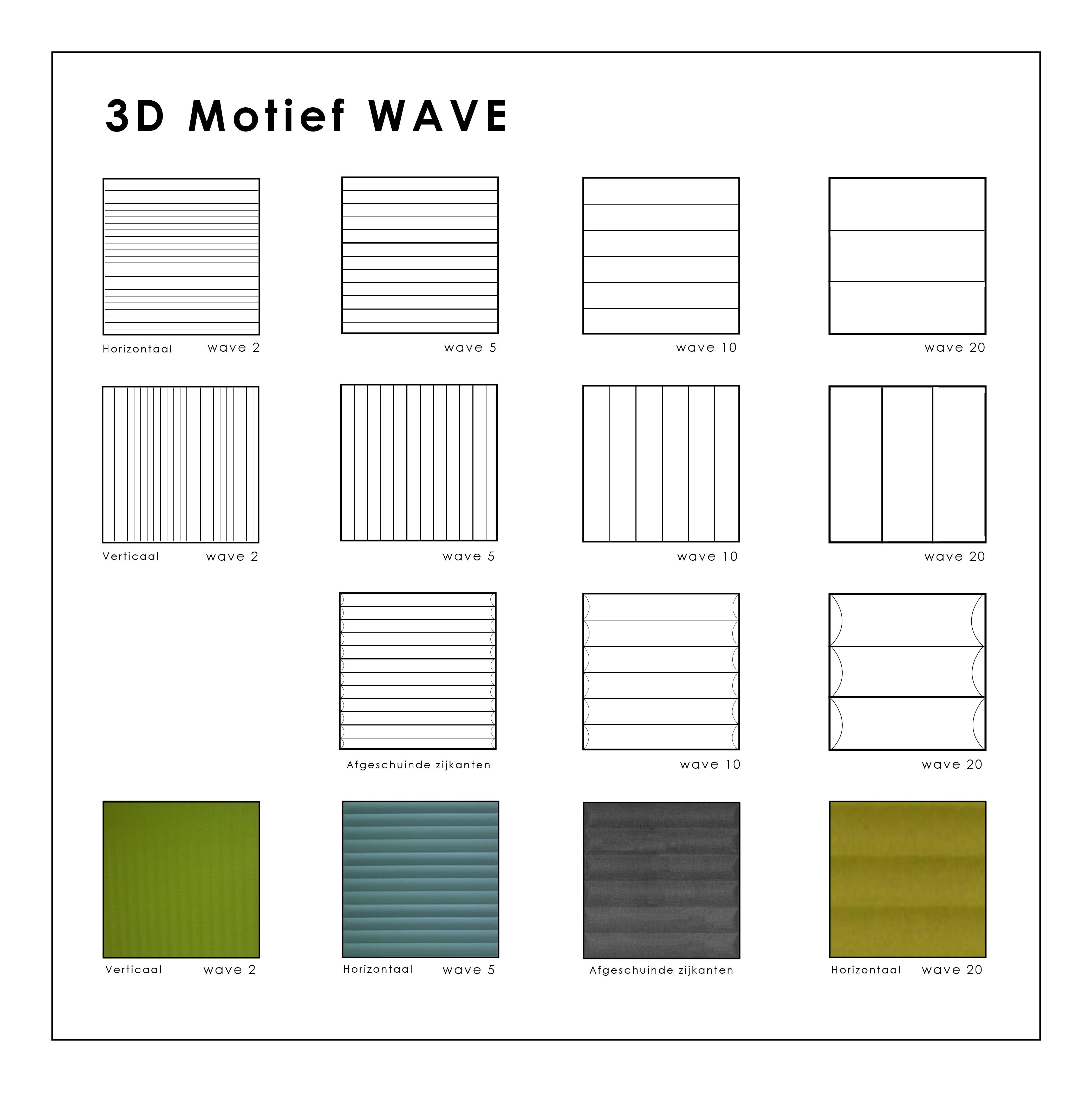 Overzicht 3-D Motief WAVE (3)
